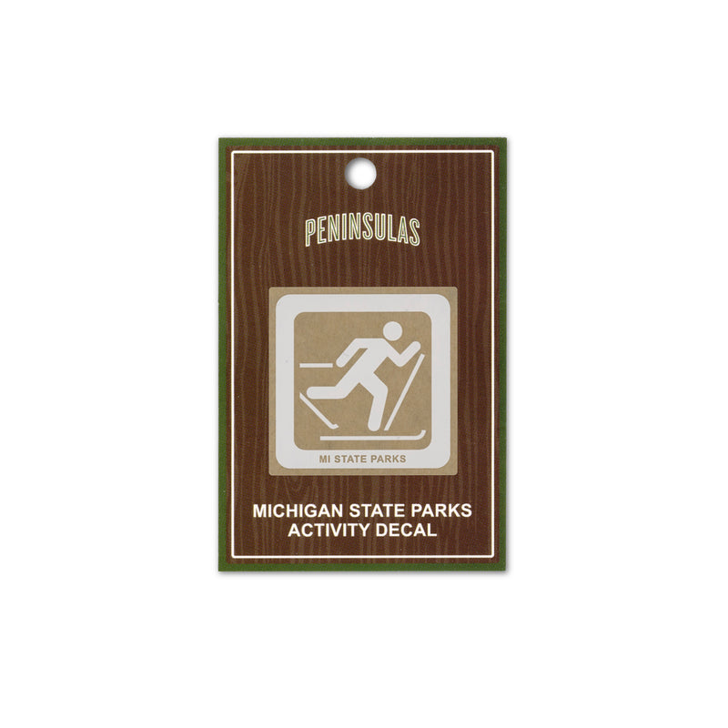 MI State Parks Activity Decal - Cross-Country Ski Trail
