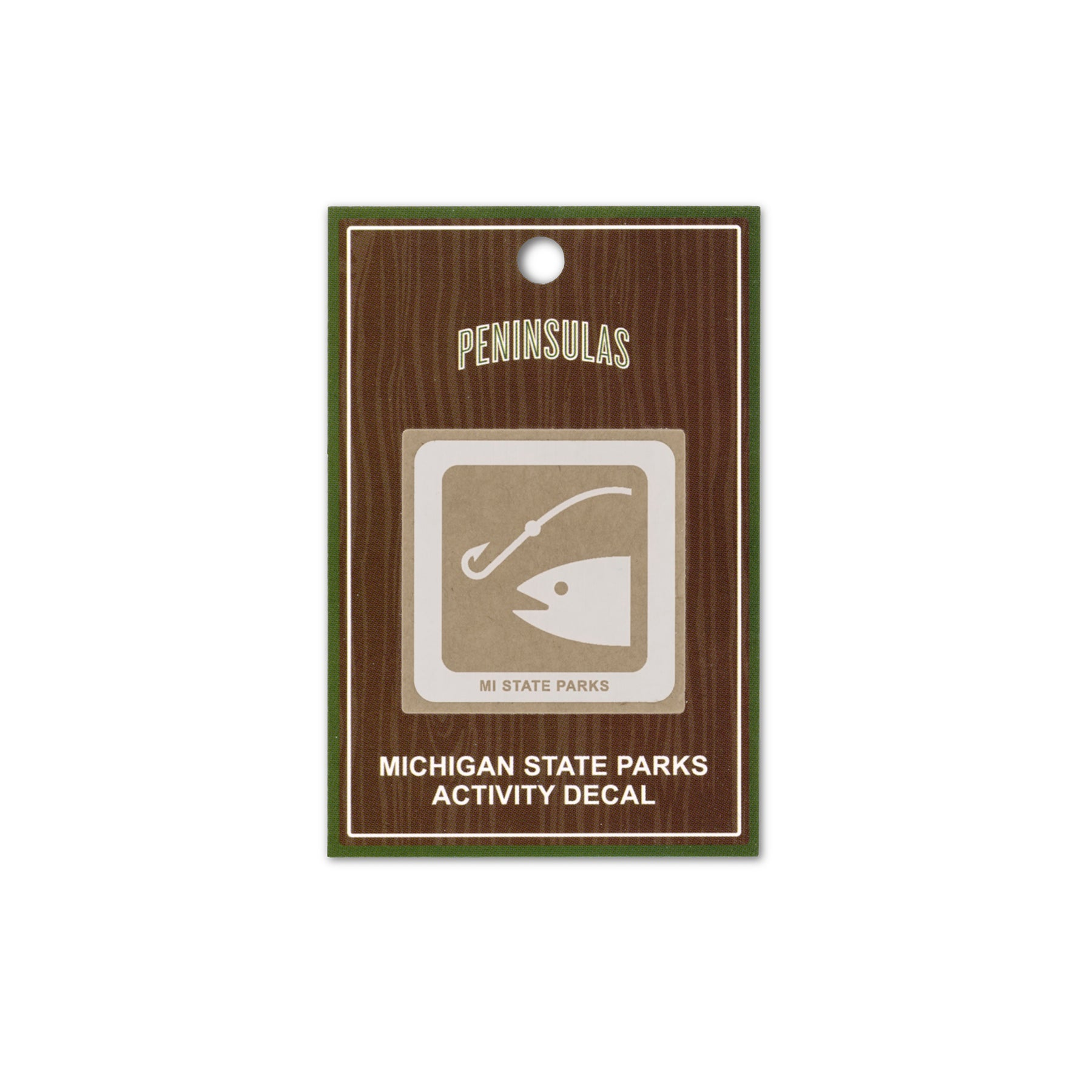 MI State Parks Activity Decal - Fishing