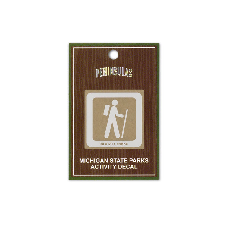 MI State Parks Activity Decal - Trailhead