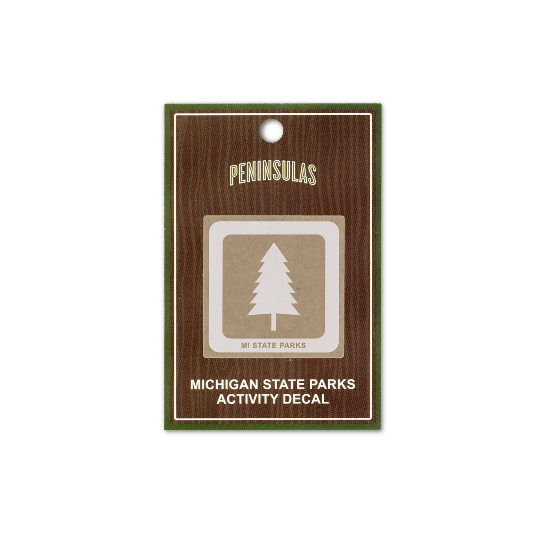 MI State Parks Activity Decal - Wilderness