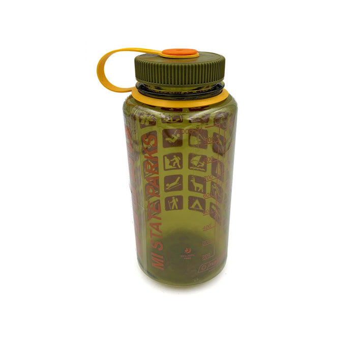 MI State Parks Nalgene Wide-Mouth Water Bottle