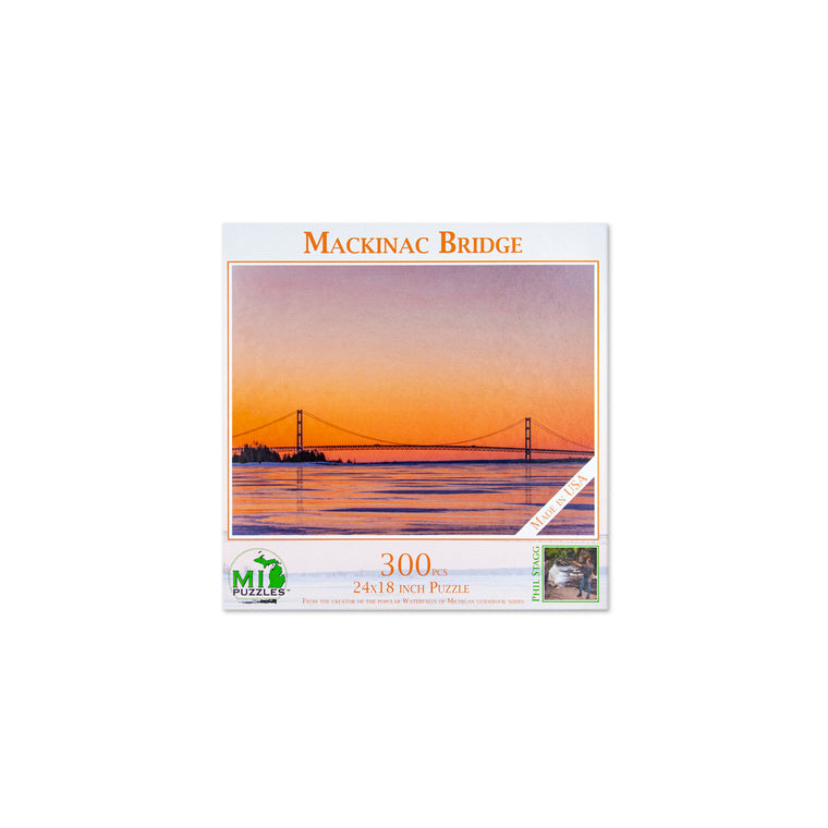Mackinac Bridge Puzzle - 300 Pieces
