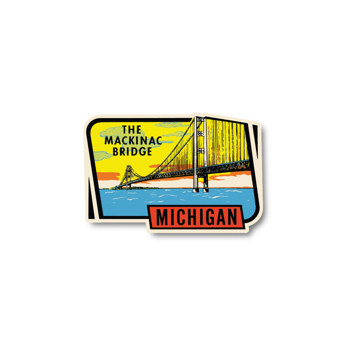 Mackinac Bridge Sticker