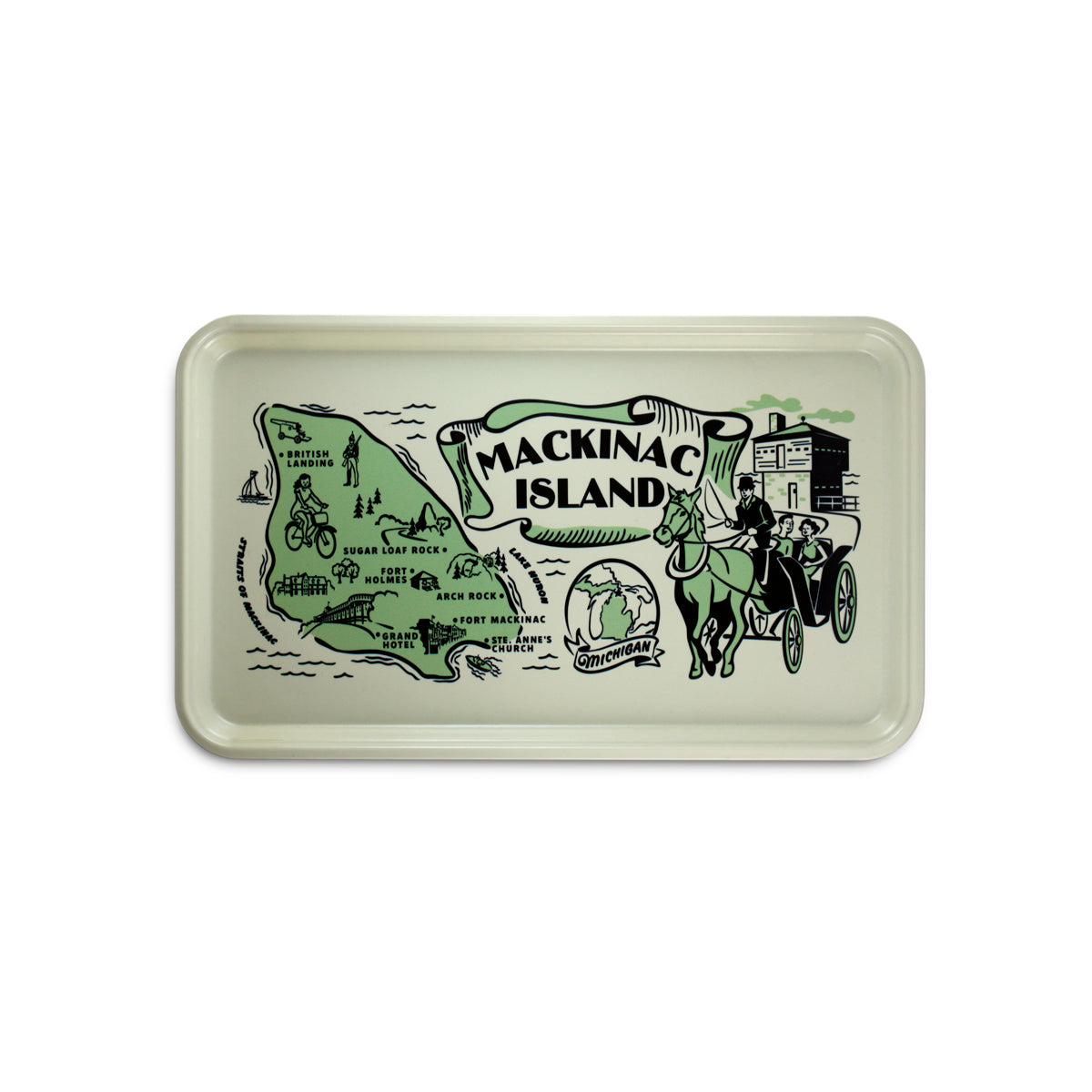 Mackinac Island Serving Tray
