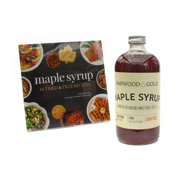 Maple Syrup Cookbook Set