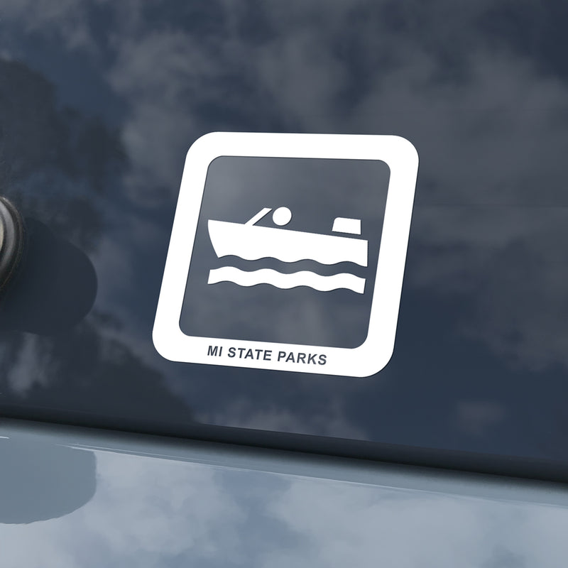MI State Parks Activity Decal – Motorboating