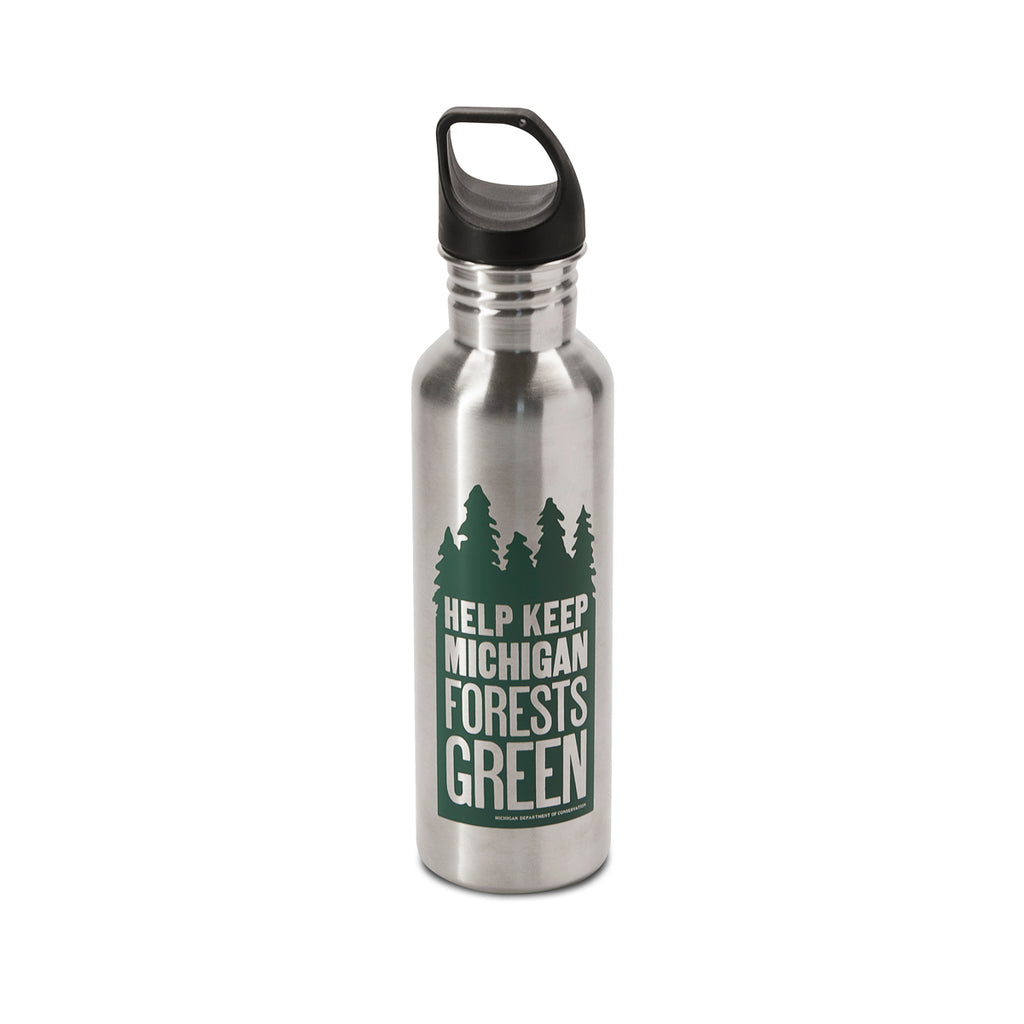 Keep Michigan Green Water Bottle