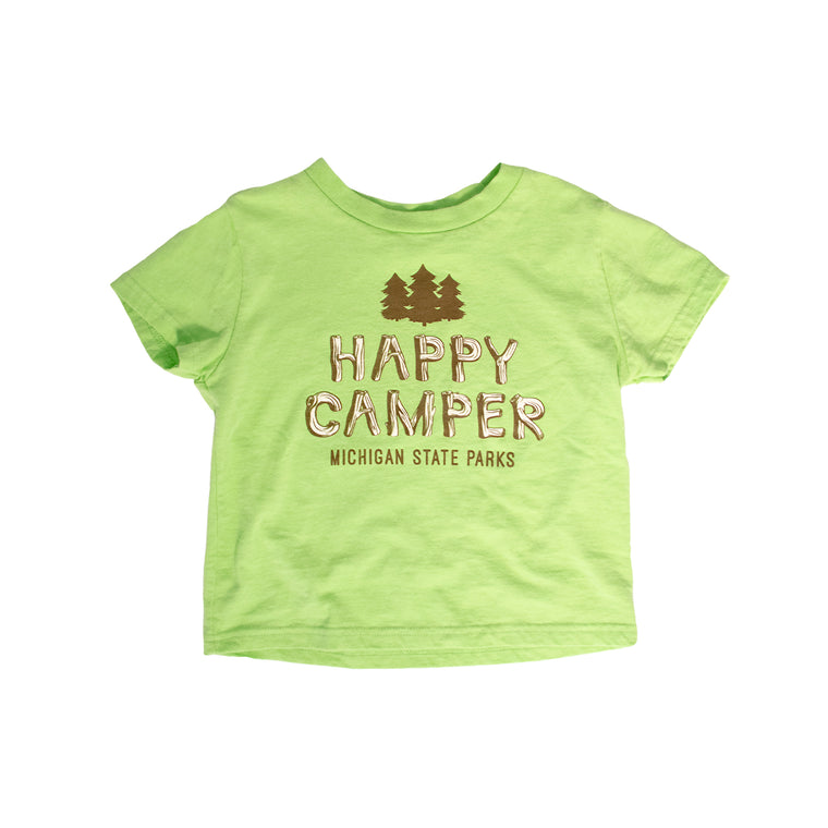 Michigan State Parks Happy Camper Youth T-Shirt