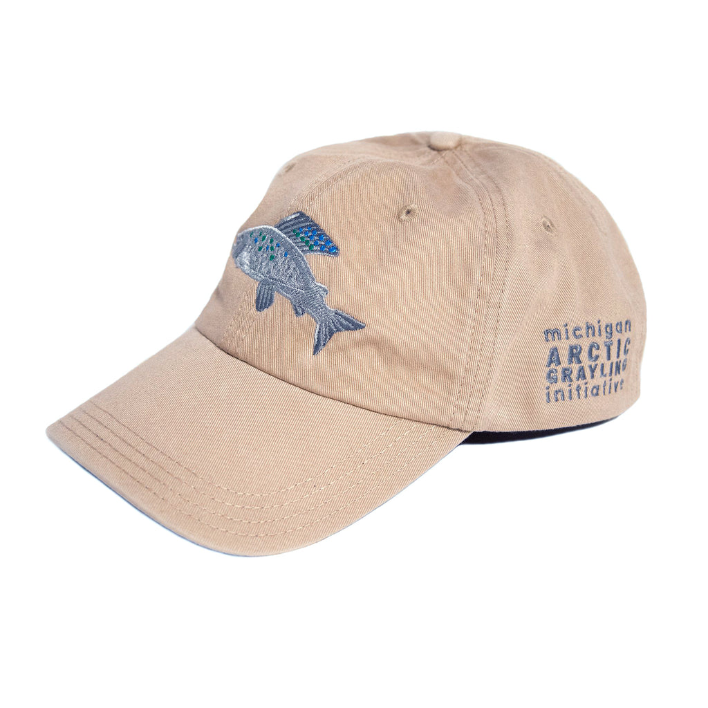 Michigan Arctic Grayling Initiative Cap - Khaki