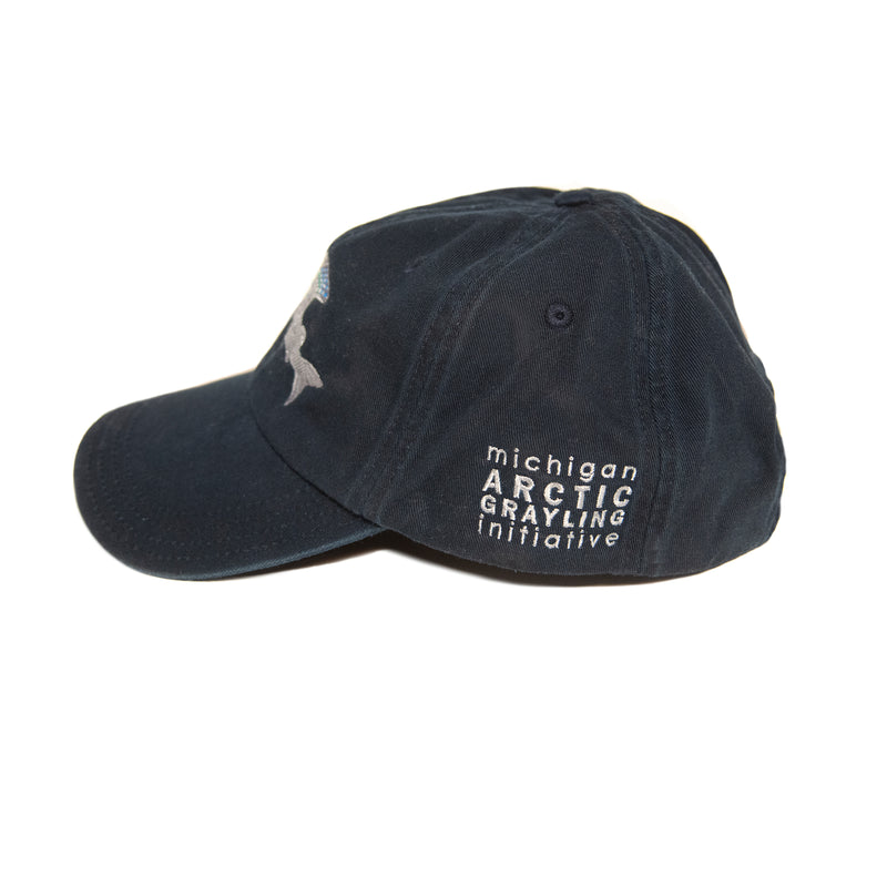 Michigan Arctic Grayling Initiative Cap - Navy