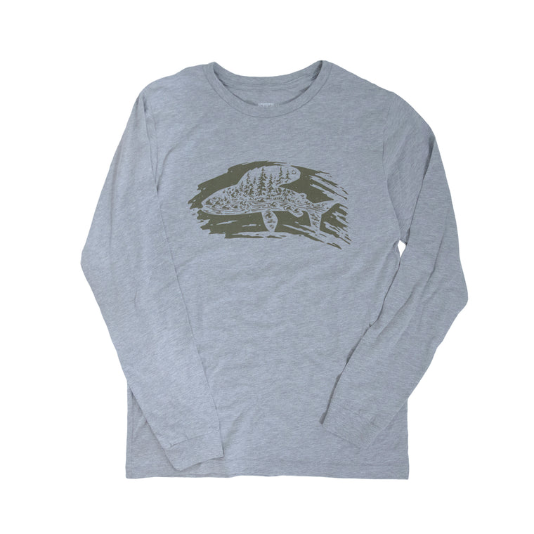 Michigan Arctic Grayling Initiative Long-Sleeved T-Shirt