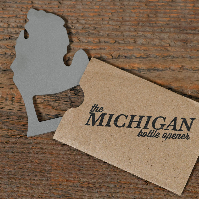 Michigan Bottle Opener - Lower Peninsula
