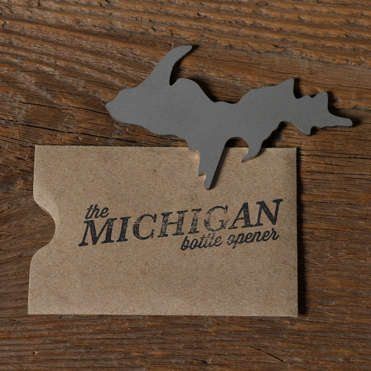 Michigan Bottle Opener - Upper Peninsula