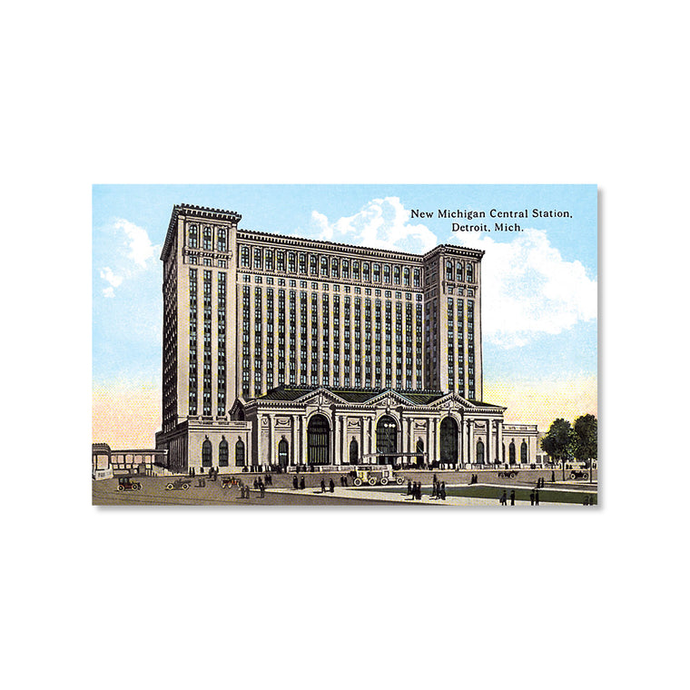 Michigan Central Station Postcard
