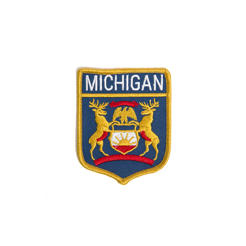 Michigan Coat of Arms Patch