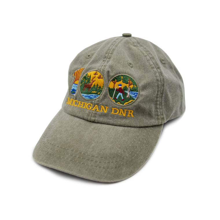 Michigan DNR Centennial Dad Cap