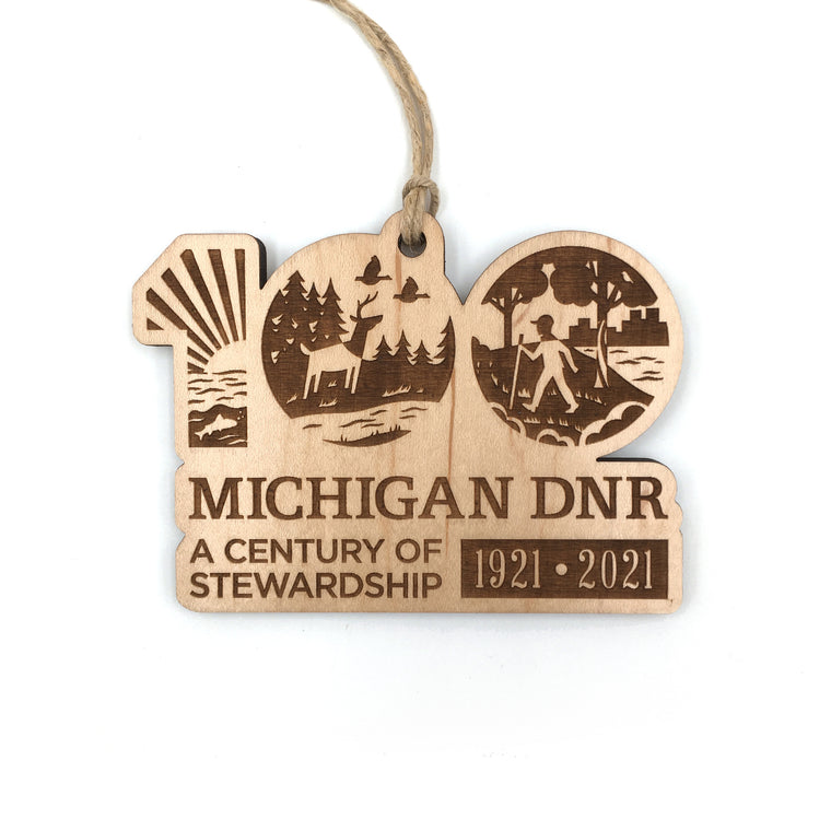 Michigan DNR Centennial Holiday Ornament