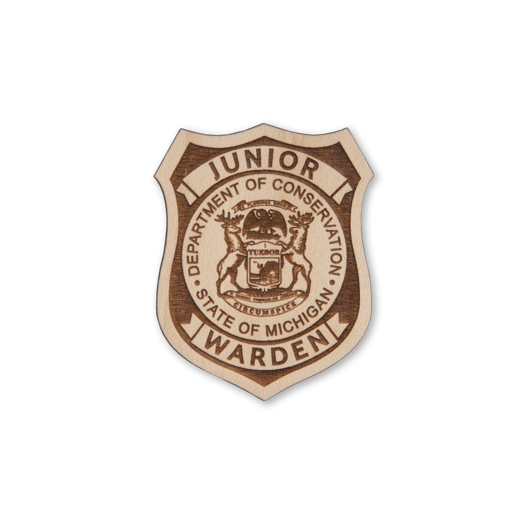 Michigan DNR Centennial Junior Warden Badge