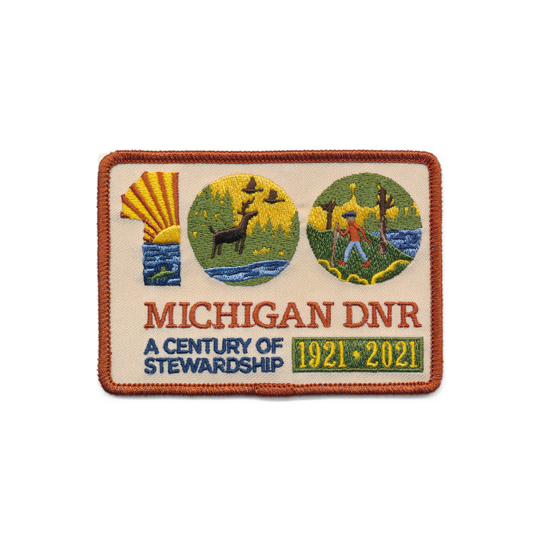 Michigan DNR Centennial Patch