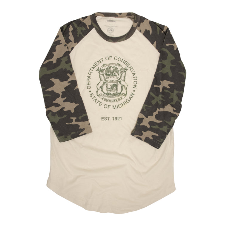 Department of Conservation Raglan Baseball T-Shirt