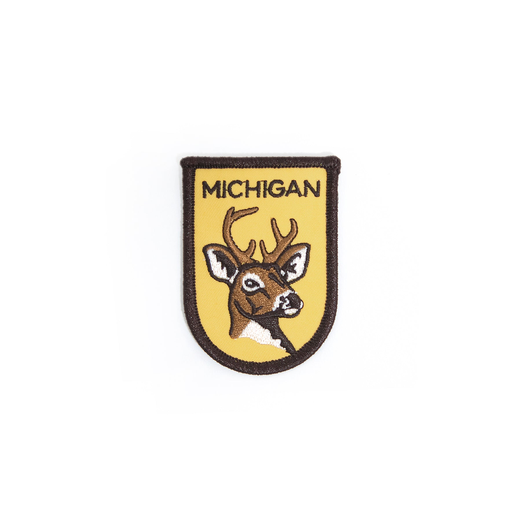 Michigan Deer Head Patch