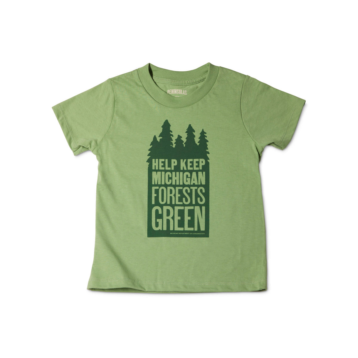 Keep Michigan Green Youth T-Shirt