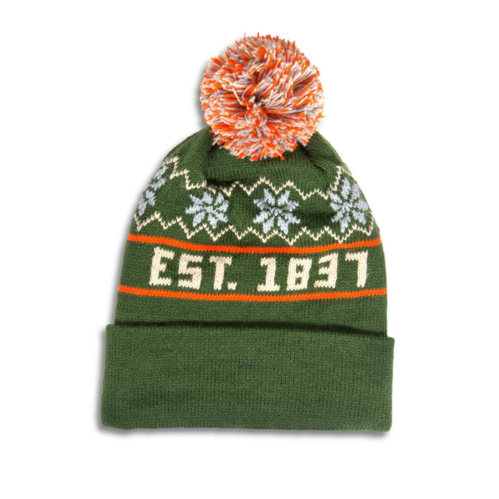 Michigan Knit Hat - Green