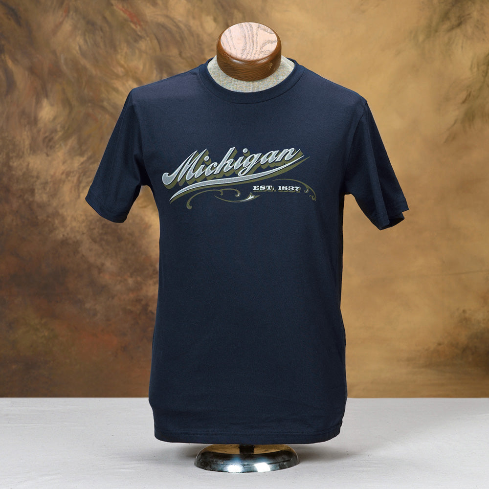 Michigan Script T-Shirt