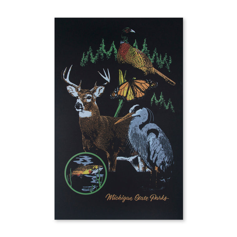 Michigan State Parks Born to Be Wild Print