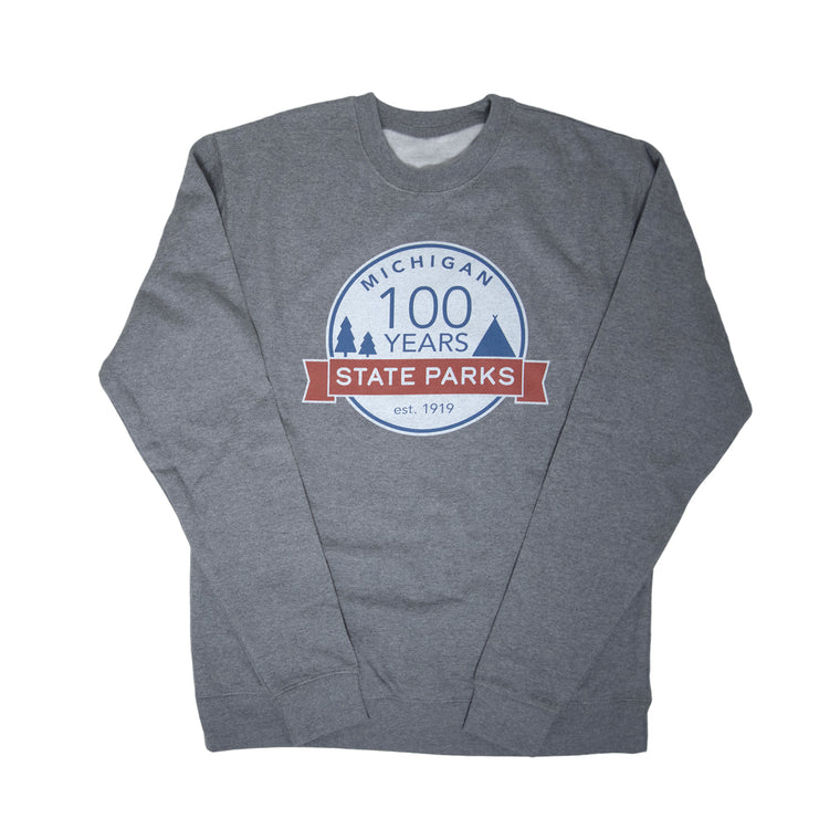 Michigan State Parks Centennial Crew Neck