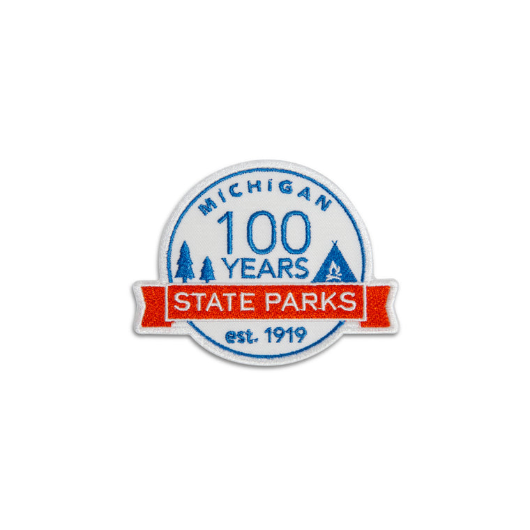 Michigan State Parks Centennial Patch