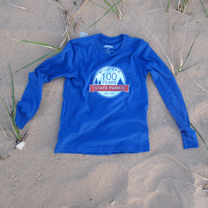 Michigan State Parks Centennial Youth Long-Sleeved T-Shirt