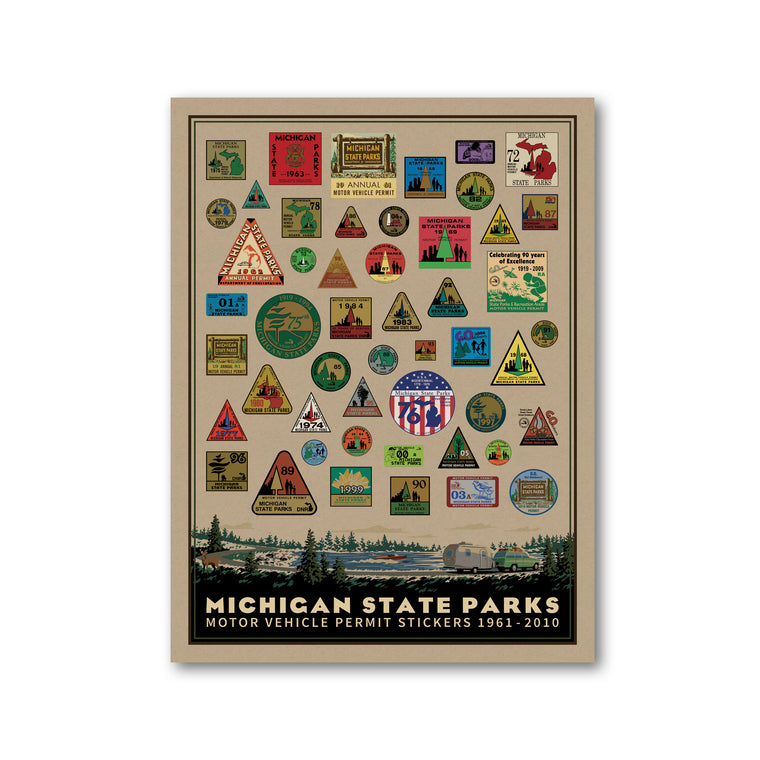 Michigan State Parks Permit Print