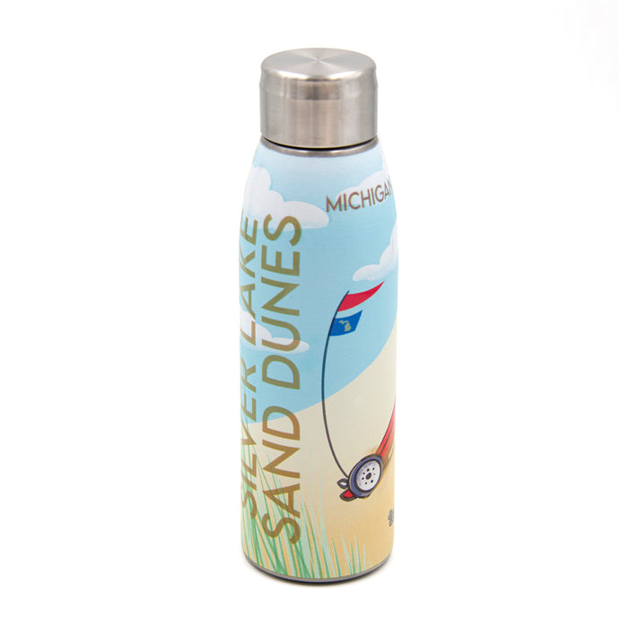 Silver Lake Sand Dunes Water Bottle