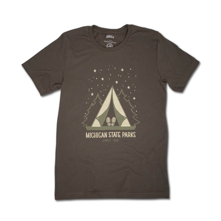 Michigan State Parks Starry Night T-Shirt