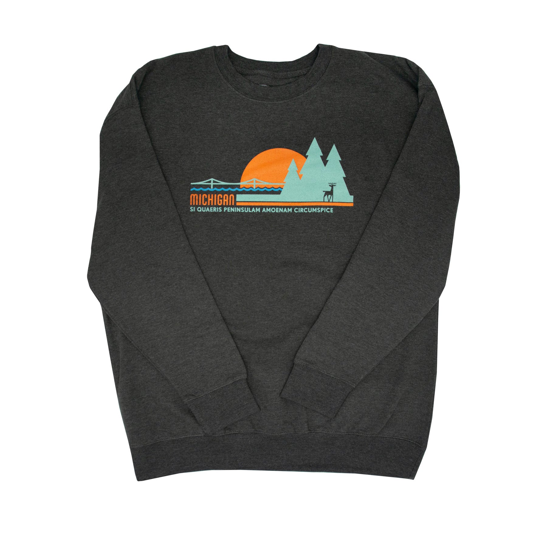 Michigan Sunset Crew Neck