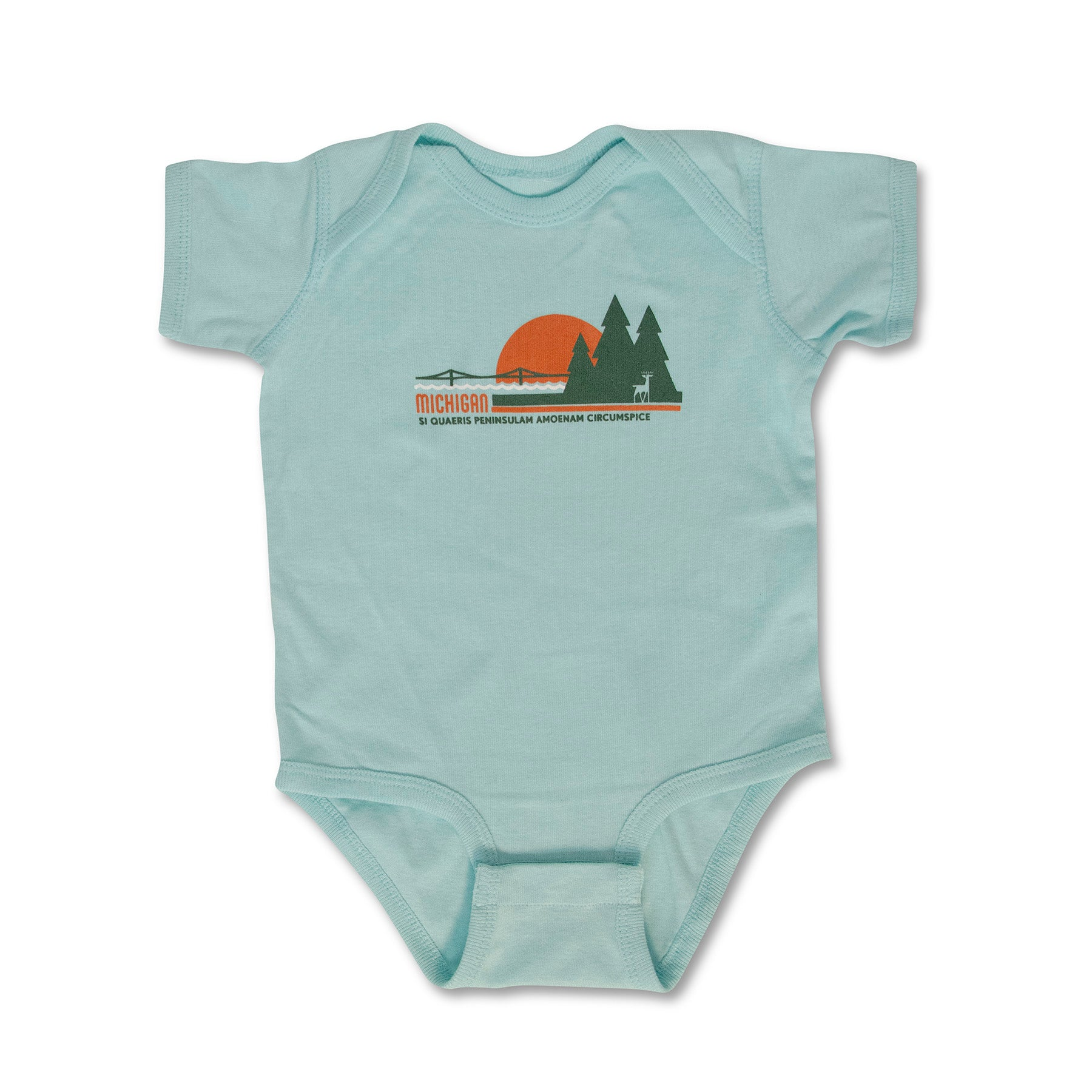 Michigan Sunset Infant One-Piece