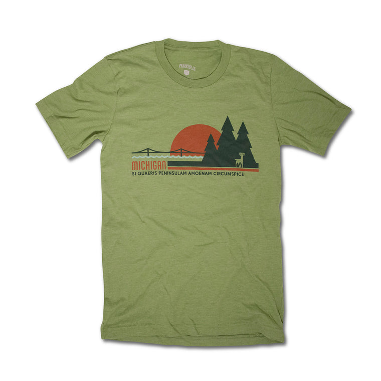 Michigan Sunset T-Shirt