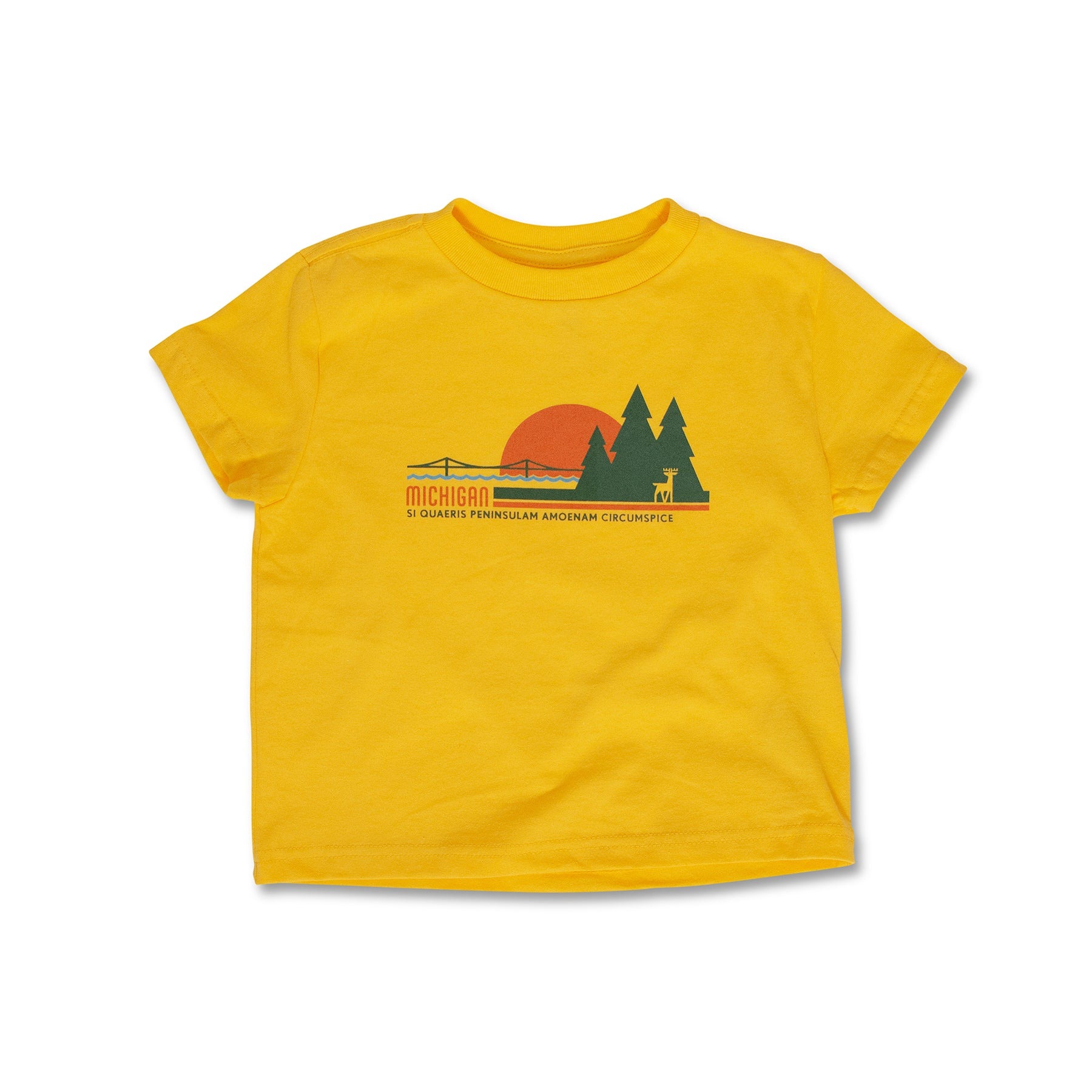 Michigan Sunset Youth T-Shirt