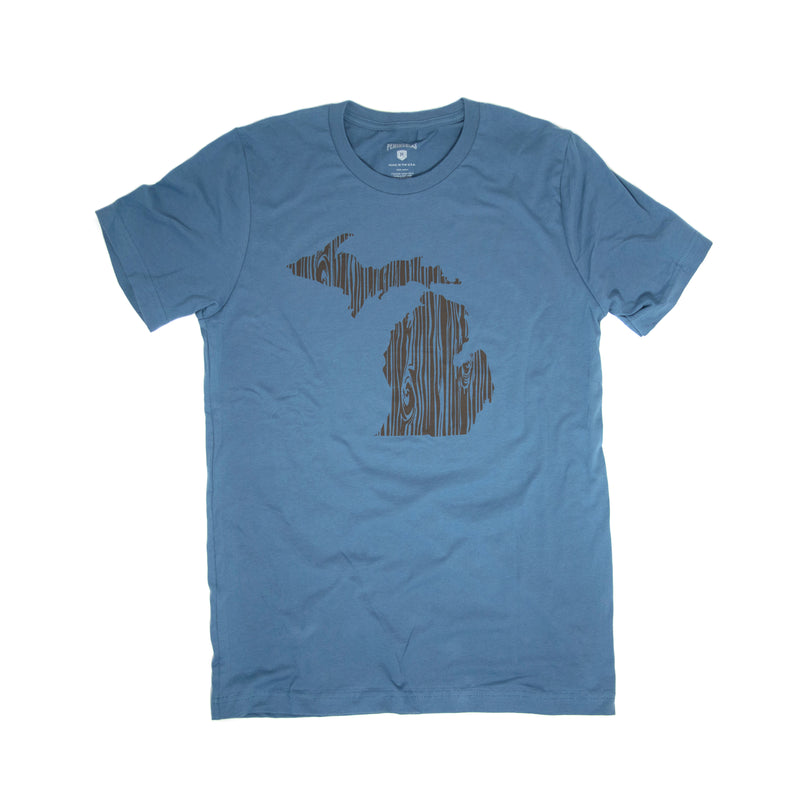 Michigan Woodgrain T-Shirt