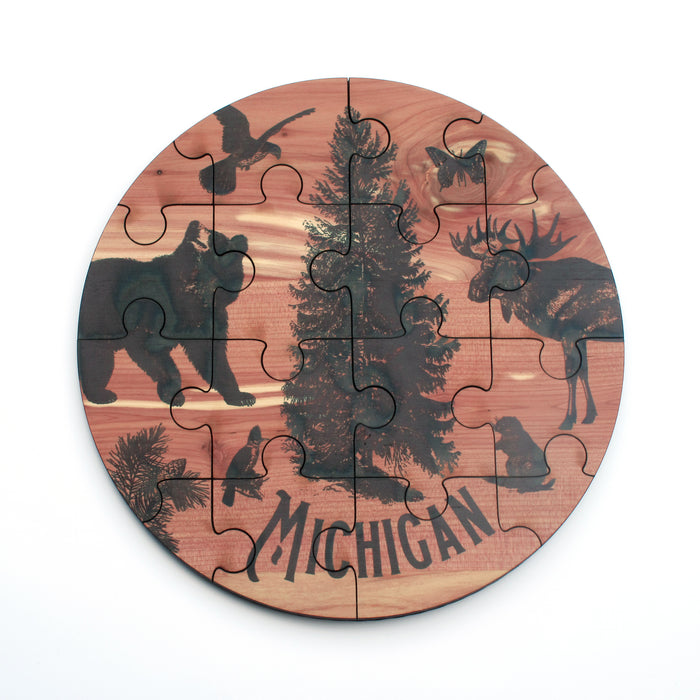 Michigan Woodland Jigsaw Puzzle