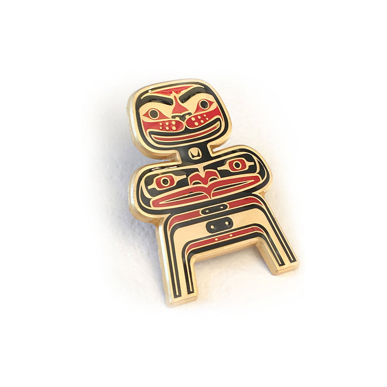 Mid-Century Totems LCW Totem Pin