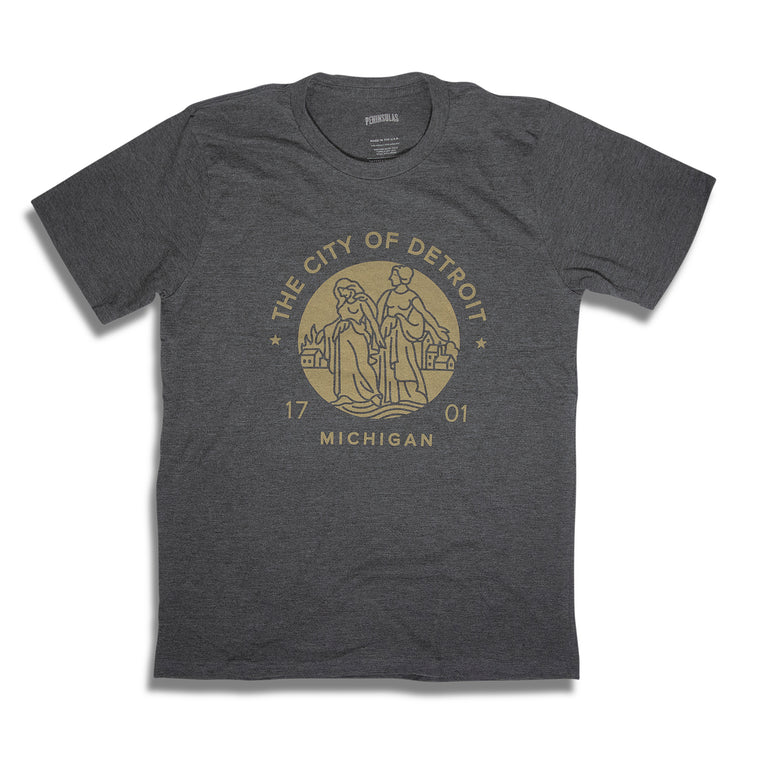 Modern Detroit Seal T-Shirt