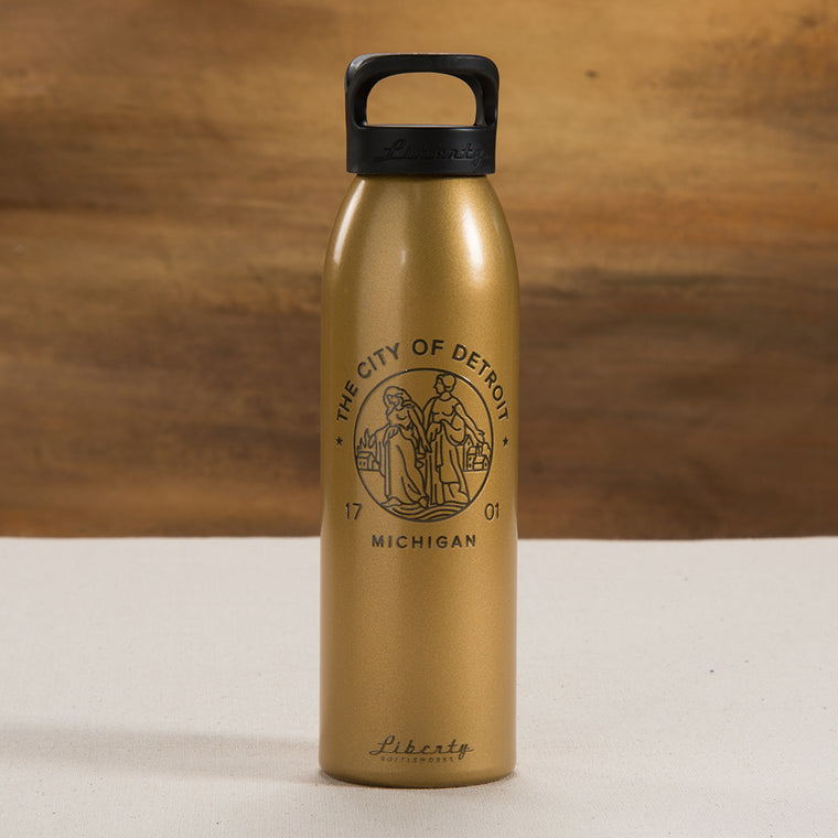 Detroit Modern Seal Water Bottle