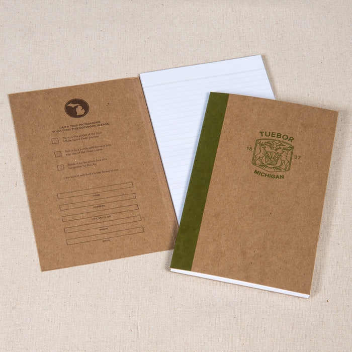 Modern Michigan Seal Notebook