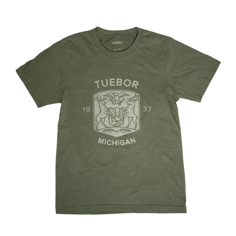 Modern Michigan Seal T-Shirt