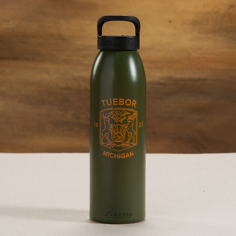 Michigan Modern Seal Water Bottle