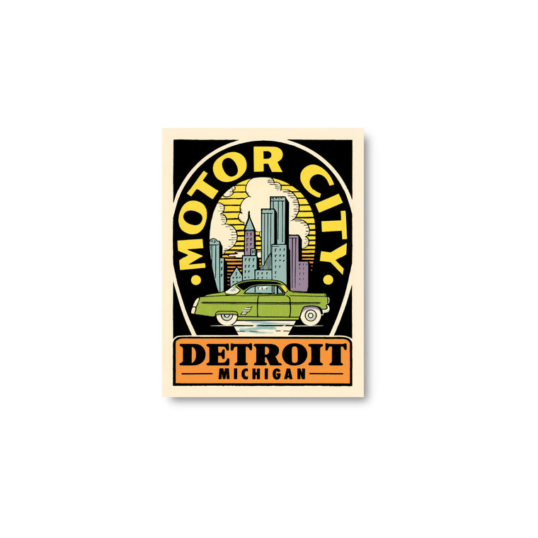 Motor City II Sticker