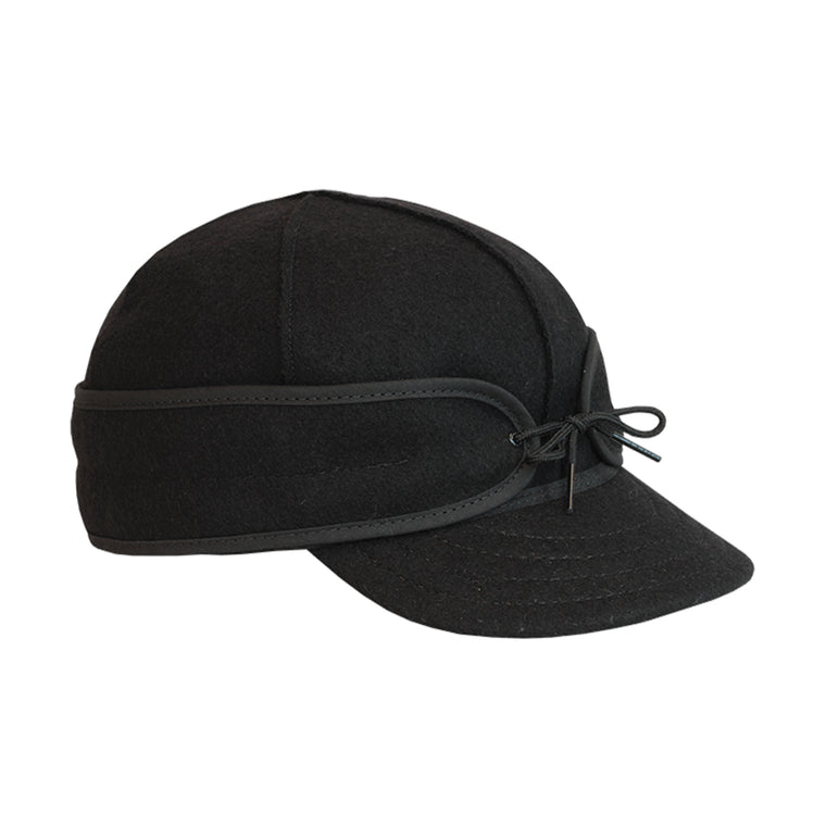 Original Stormy Kromer Wool Cap - Black
