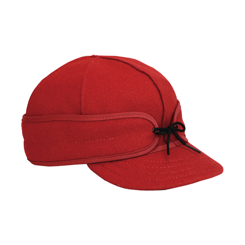 Original Stormy Kromer Wool Cap - Red